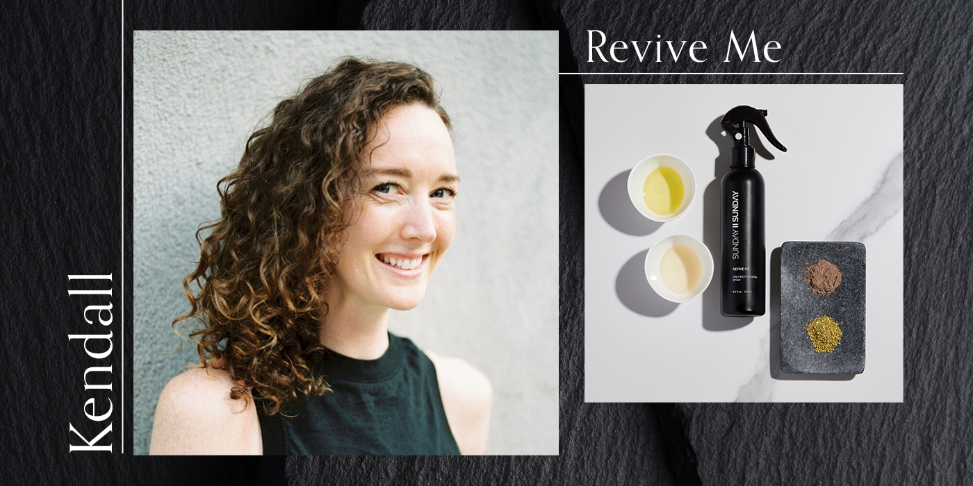 curly hair care revive me