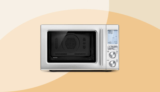 This Sleek 3-In-1 Oven, Microwave, and Air Fryer Is Here To Clear Up All Your...
