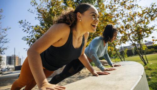 serratus push-ups workout