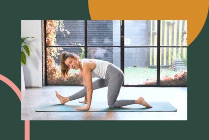 This Gentle Pilates Sequence Is Like a Massage for Your Lower Back