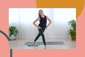 This 15-Minute Pilates Routine Utilizes a Towel as a Slider for Max Muscle Activation