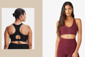 7 Sports Bras with Keyhole Cut-Outs for Extra Breathability