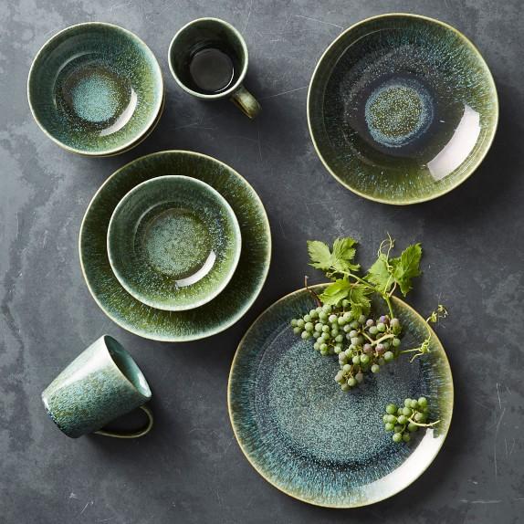 cyprus glaze dinnerware