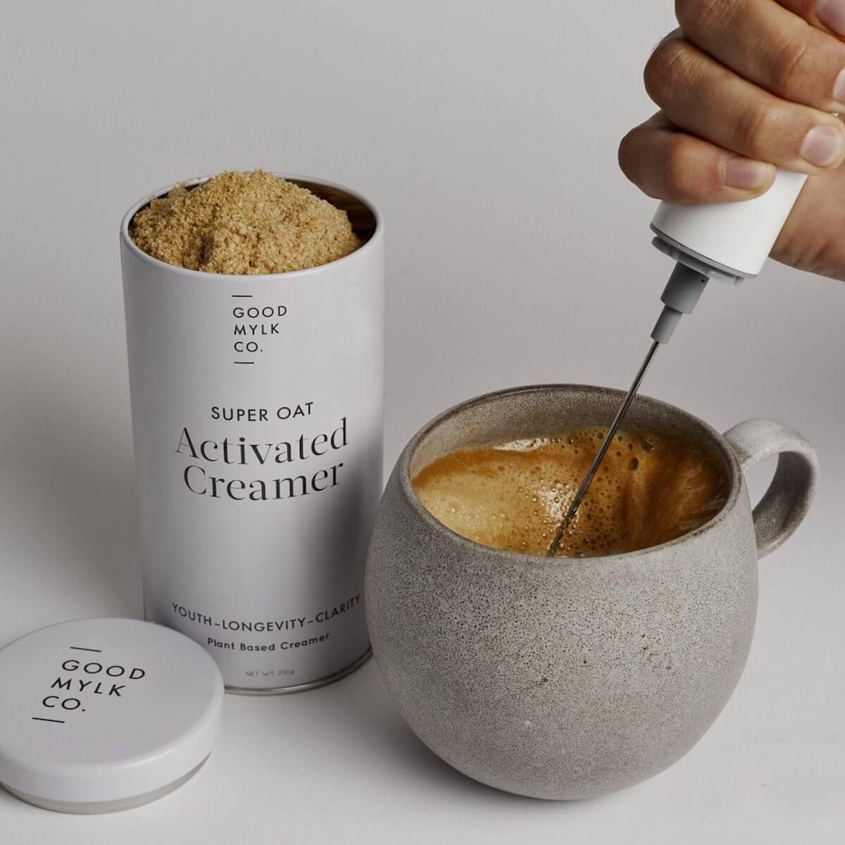 goodmylk super oat activated creamer