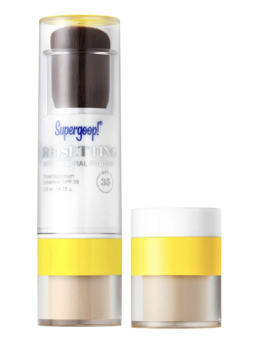 supergoop powder sunscreen