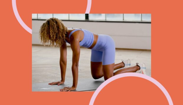 Bear Planks Work Your Arms, Core, and Glutes in a Single Move—Here's How To Do...