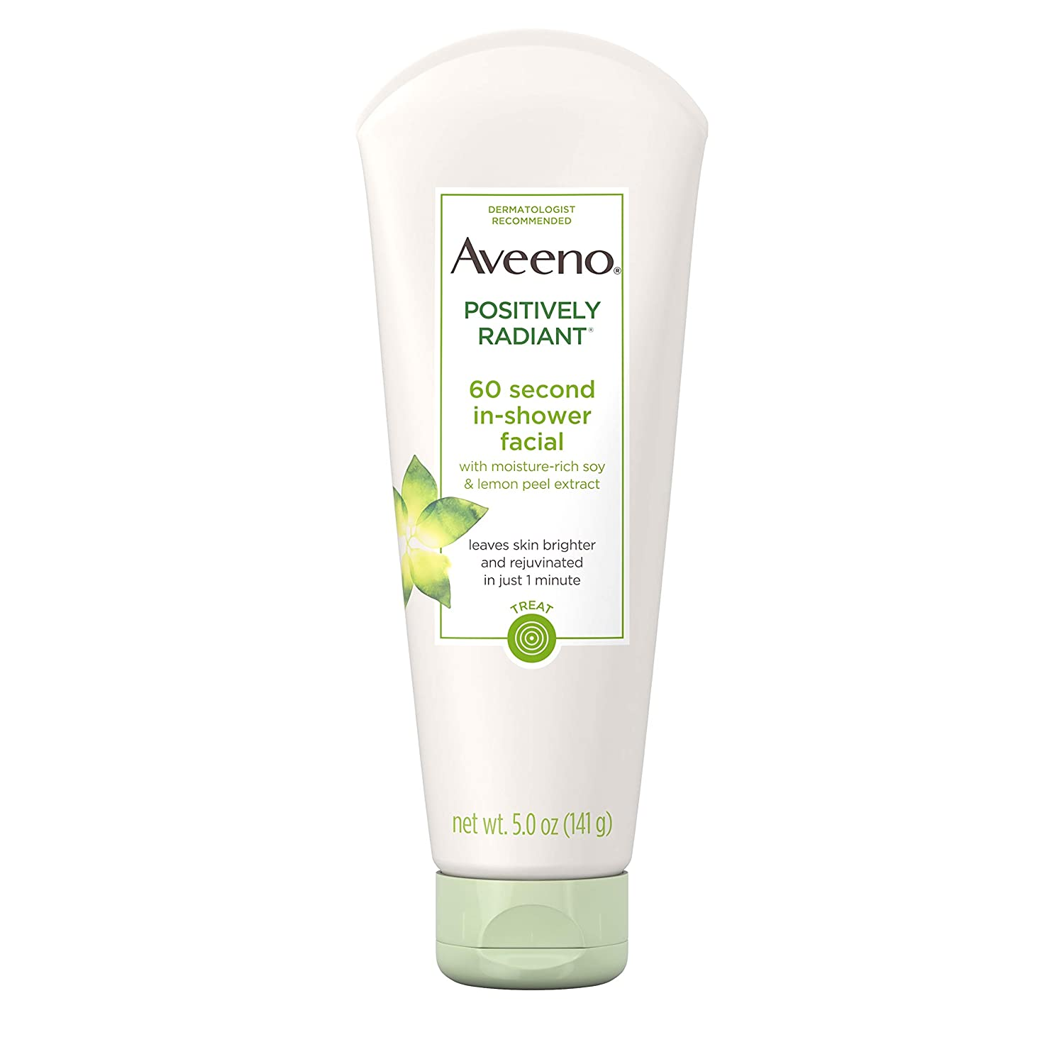 Aveeno Positively Radiant 60-Second In-Shower Facial, signs you need to exfoliate