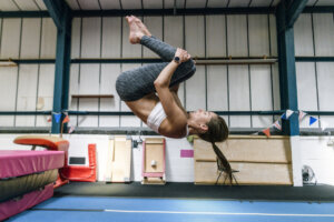 The Stretch a Champion Gymnast Does First Thing Every Morning Happens To Be the Easiest of Them All