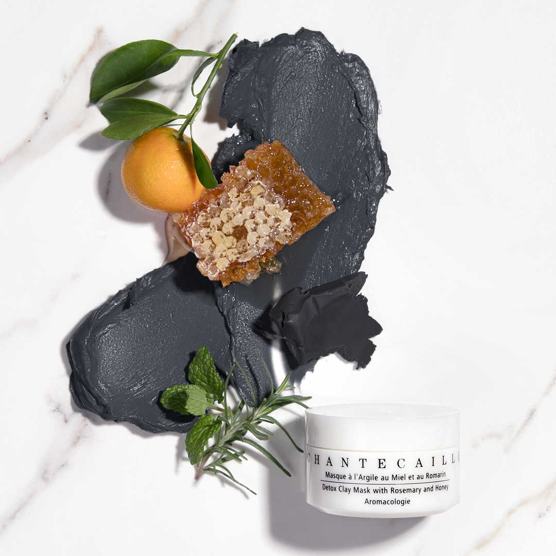 skin-care face mask clay