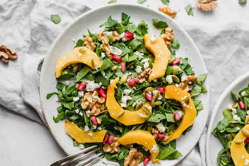 pumpkin recipes salad