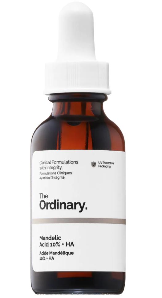 The Ordinary Mandelic Acid 10% + HA, signs you need to exfoliate