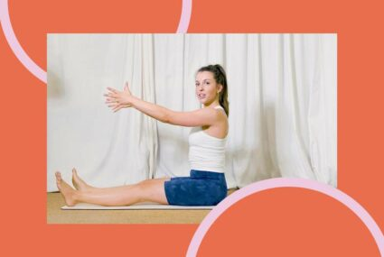 This Common Pilates Move Strengthens Your Abs and Mobilizes Your Spine at the Same Time