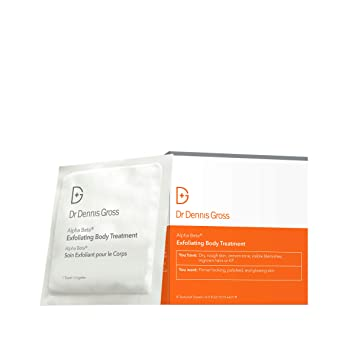Dr. Dennis Gross Skincare Alpha Beta® Exfoliating Body Treatment Peel, effects of hard water on skin and hair