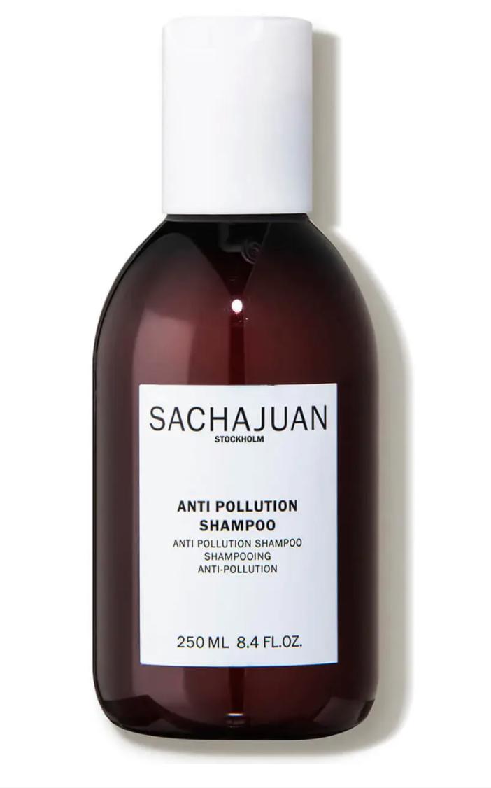 Sachajuan Anti Pollution Shampoo, effects of hard water on skin and hair