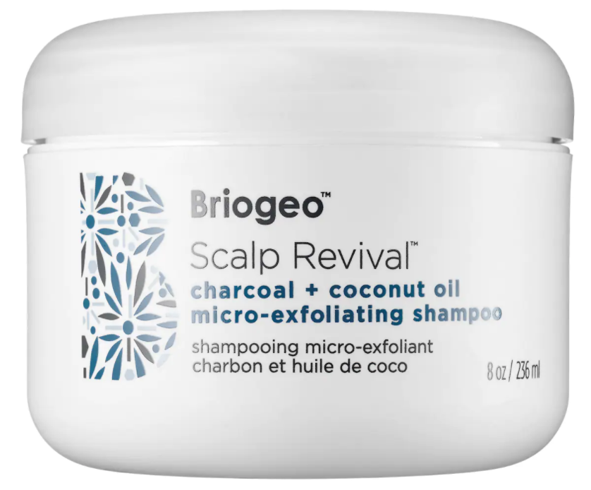 Briogeo Scalp Revival Charcoal + Coconut Oil Micro-Exfoliating Scalp Scrub Shampoo, effects of hard water on skin and hair