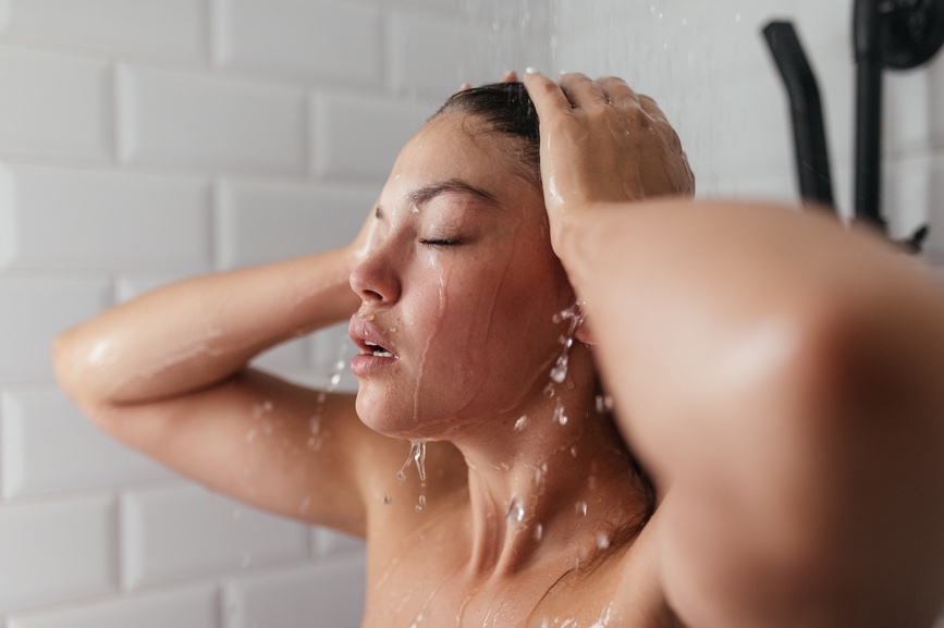 Hard Water Buildup Can Cause Dry Skin and Brittle Hair, But You Can Remove It