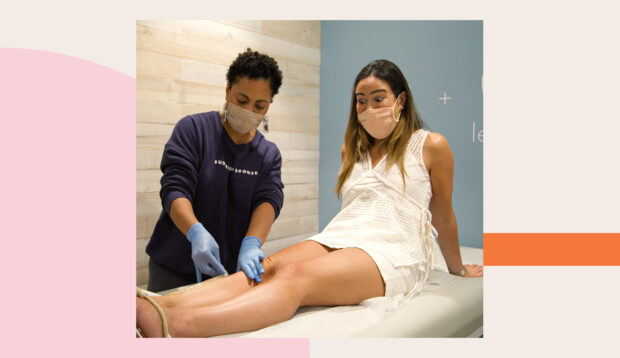 I Tried Sugar Waxing My Legs at Home, and Uh, Things Did Not Go As...