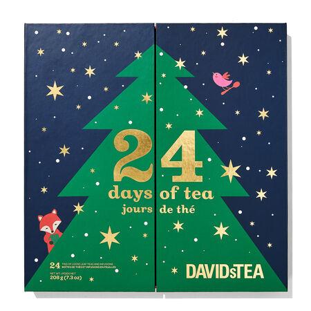 davids tea advent calendar