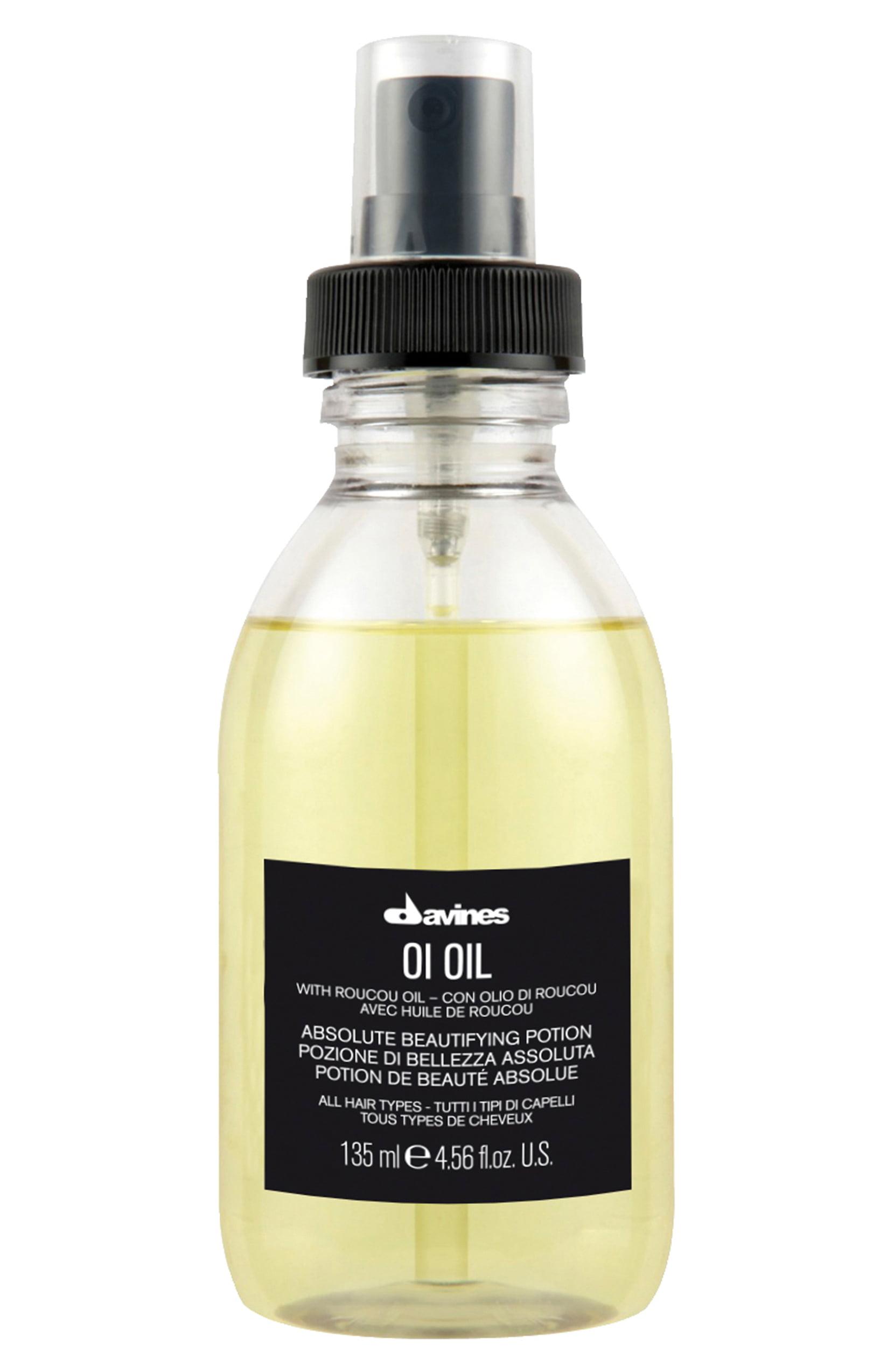 davines hair oil