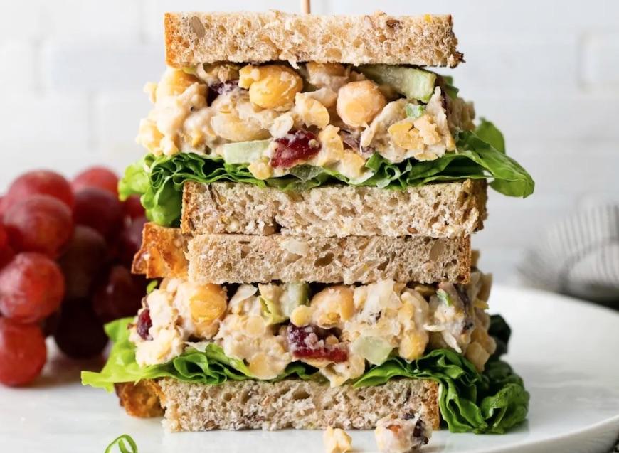vegetarian sandwich recipes chickpeas
