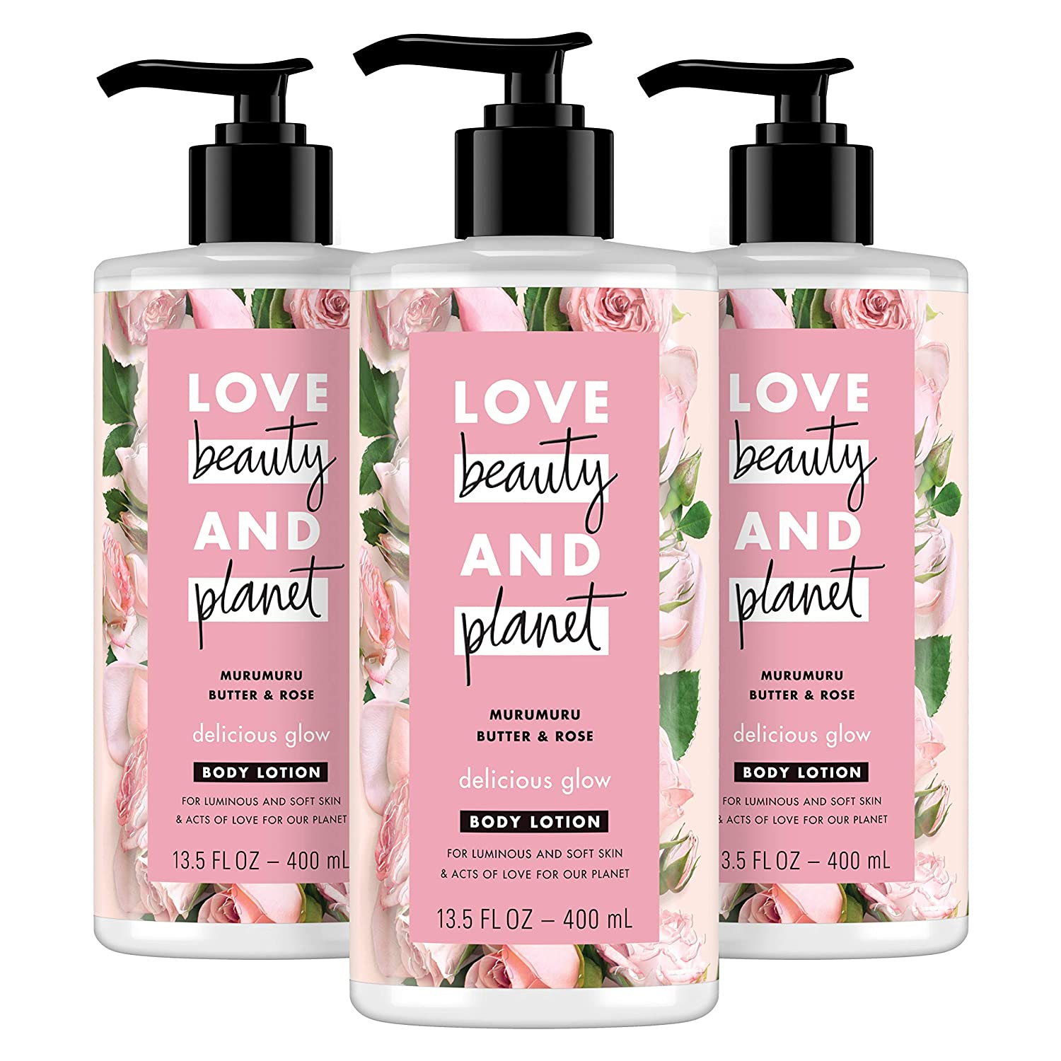 Love Beauty and Planet Delicious Glow Body Lotion, Amazon Winter Skin-Care Sale