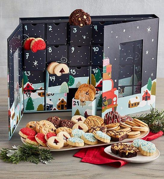 harry & david cookie advent calendars