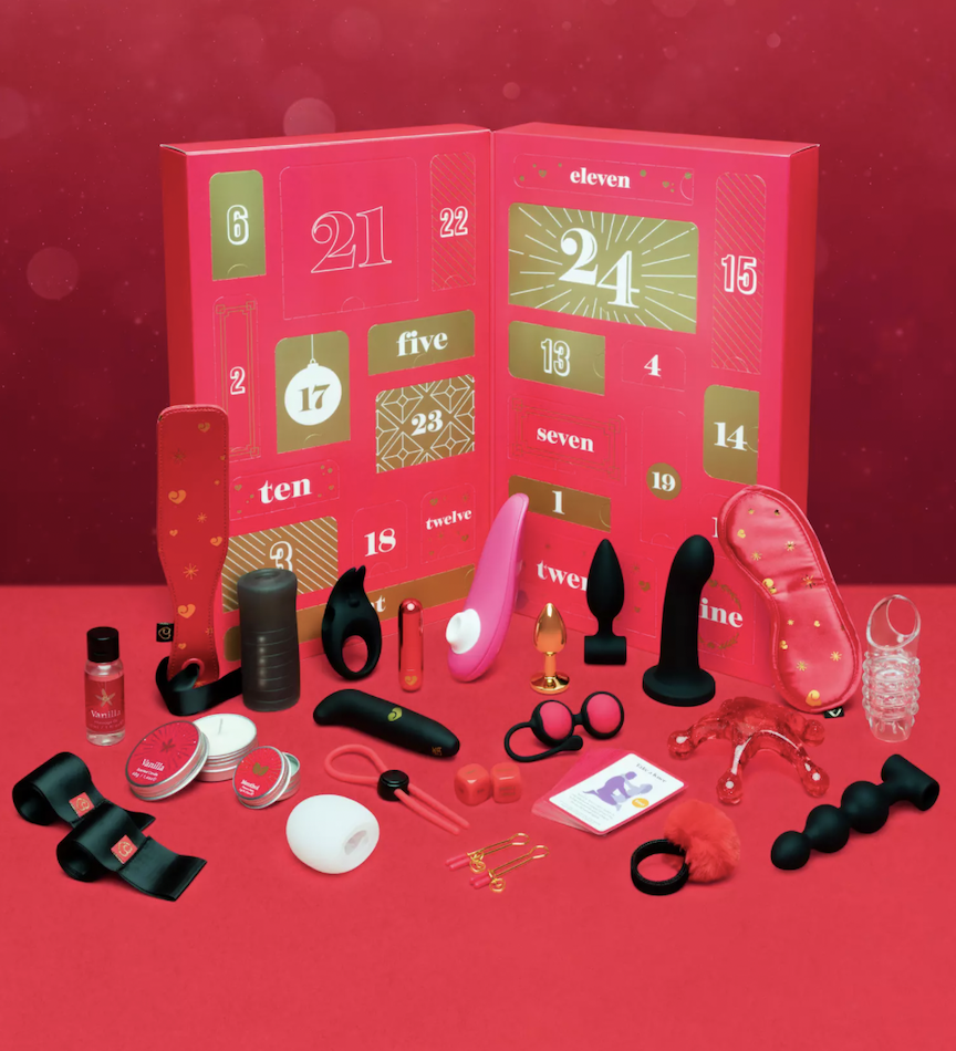 lovehoney sex toy advent cal for couples