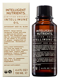 Drink me: Intelligent Nutrients makes this supplement safe to eat and apply to your skin