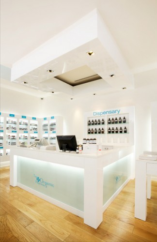 The Organic Pharmacy's first stateside dispensary in Beverly Hills